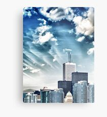 City Buildings Metal Print