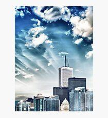 City Buildings Photographic Print