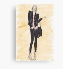 Fashion bod Canvas Print