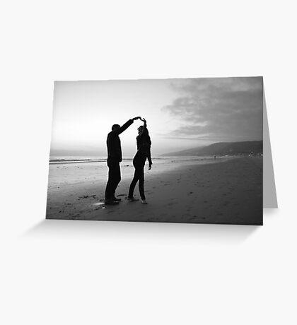 Beach // Love // Dance Greeting Card