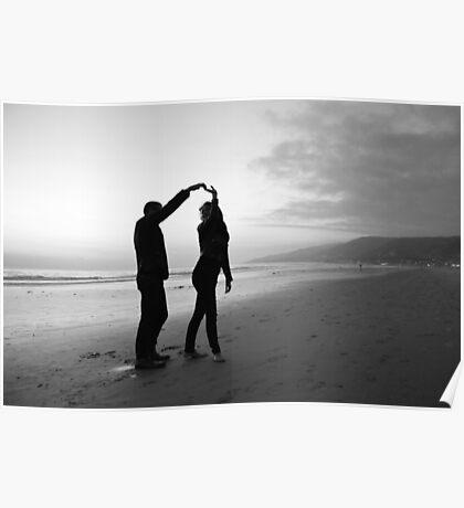 Beach // Love // Dance Poster
