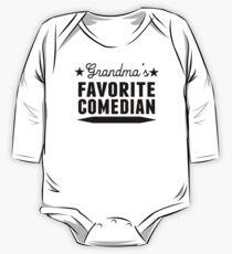 Grandma's Favorite Comedian One Piece - Long Sleeve