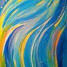 Reconnection - spiritual abstract art by jonkania