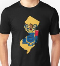 New Jersey State Flag Unisex T-Shirt