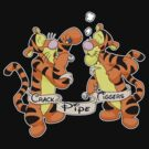 Crack pipe tiggers by Psychobilly-Tee