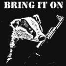 Badger Fights Back (safe) by Buddhuu