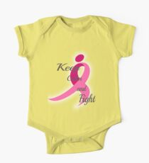Breast Cancer One Piece - Short Sleeve