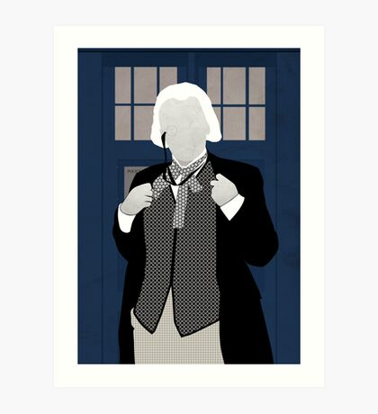 The first Doctor Art Print