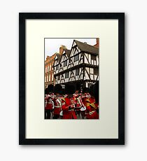 Grenadier Guards Lincoln Gerahmtes Wandbild