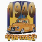 1940 Vintage Ford by Steve Harvey