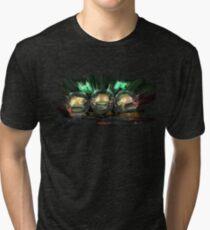 Camiseta de tejido mixto Arte del programa espacial Kerbal