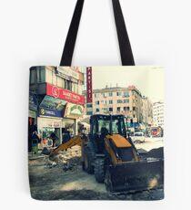 A street in Gaziantep. Tote Bag