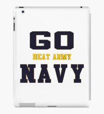 Go Navy, Beat Army!! iPad Case/Skin