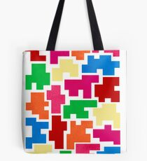 COLORFUL LABYRINTH Tote Bag