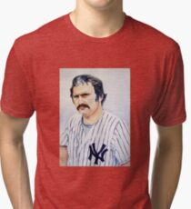 thurman munson Tri-blend T-Shirt