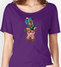 The Pilot Pig! Women's Relaxed Fit T-Shirt