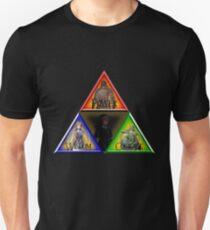 Triforce - Wisdom, Courage, Power Unisex T-Shirt