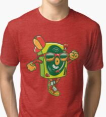 The Turntable #2 Tri-blend T-Shirt