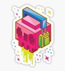 Cube DJ #3 Sticker