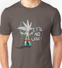 """Silver The Hedgehog """"It's no use!"""" Unisex T-Shirt"""