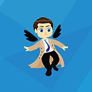 Angel Castiel Supernatural by awiec
