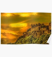 Stirling Castle in Scotland Poster