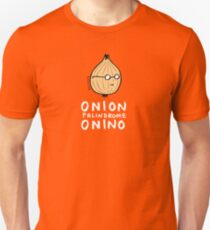 ONION >> PALINDROME = ONINO Unisex T-Shirt