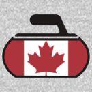 Canada Curling by the-splinters