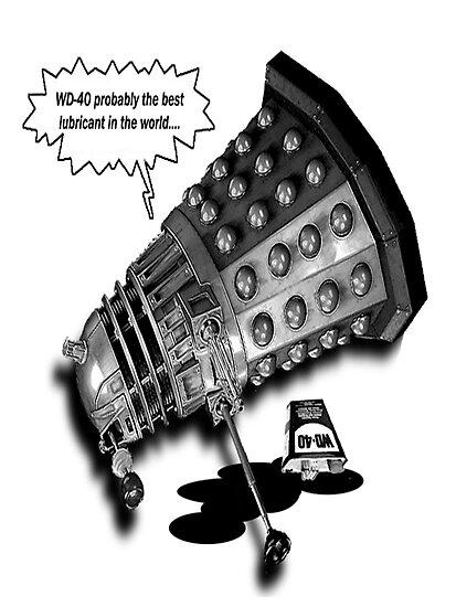 Drunk Dalek by Noel Porter