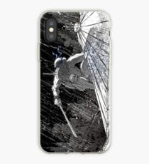 Ninja Turtle Leonardo in the Rain iPhone Case