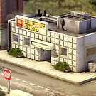 Onett - Burger Shop by Christopher Behr