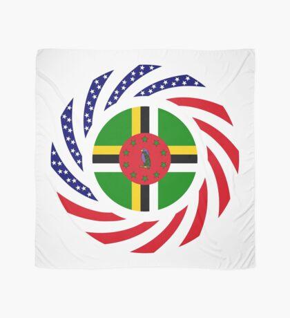 Dominica American Multinational Patriot Flag Series Scarf