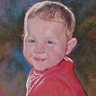 Portrait of Finn by Lynda Robinson