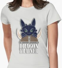 Dragon Trainer Tee (With Text) Women's Fitted T-Shirt