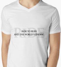 Ride To Ruin Men's V-Neck T-Shirt