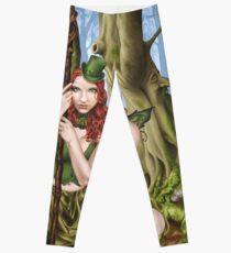 Irish Green Fairy Leprechaun Leggings