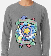 Stern-Schmetterling Leichtes Sweatshirt