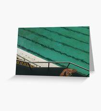 Bondi Beach Ocean Pool Greeting Card