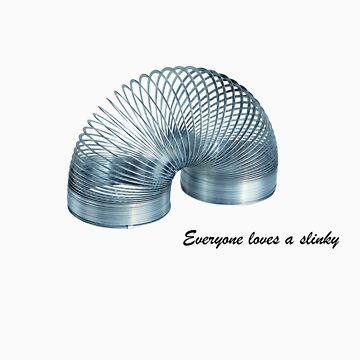 Everyone Loves A Slinky! by pookychoo
