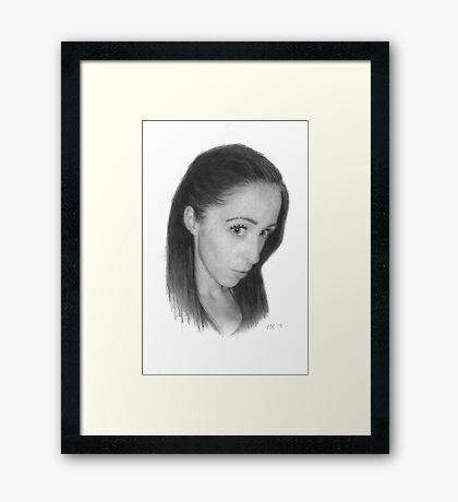 """""""Janine"""" Framed Print"""