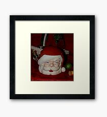 HoHoHo Cookie Jar Framed Print
