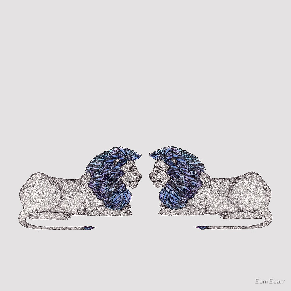 Lions  by samclaire