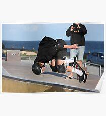Floating A Backside Ollie Poster