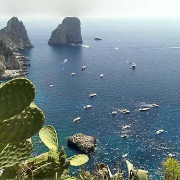 Capri view to Fragolini by M0les2013