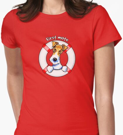 Wire Fox Terrier : First Mate T-Shirt