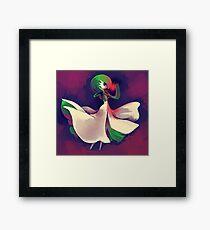 Gardevoir used Shadow Ball  Framed Print