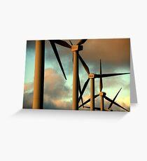 Energie Greeting Card