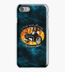 Triumph Bonneville Fast and Fierce iPhone Case/Skin