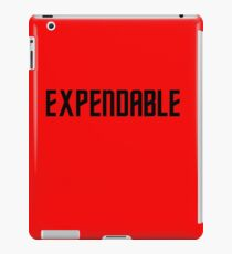 EXPENDABLE iPad Case/Skin