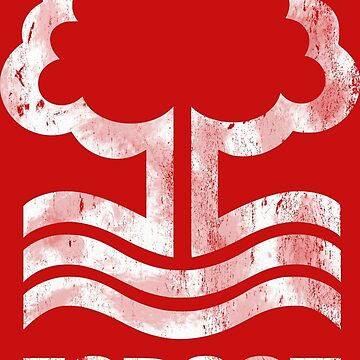 Nottingham Forest Distressed Logo by boscotjones